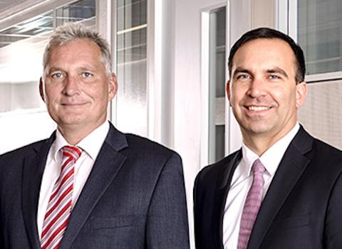 Management Board: Martin Hierholzer, Martin Obertrifter