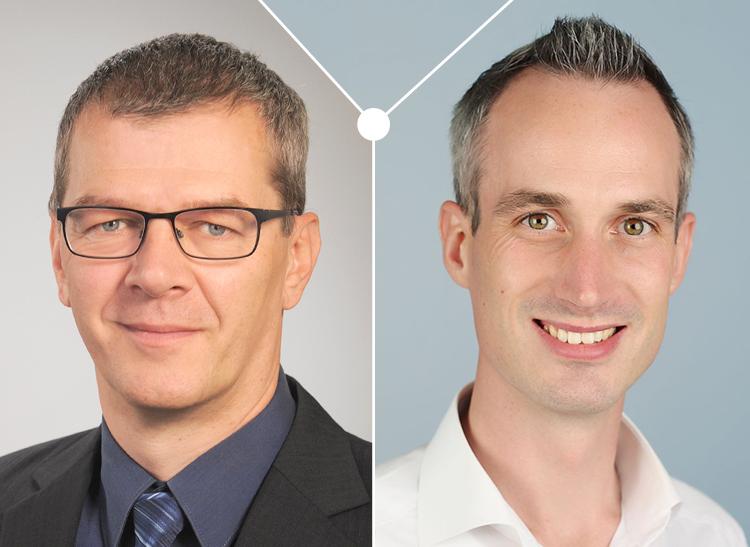 Jirko Lohse (Sprecher der Geschäftsführung) und Björn Ossenkop